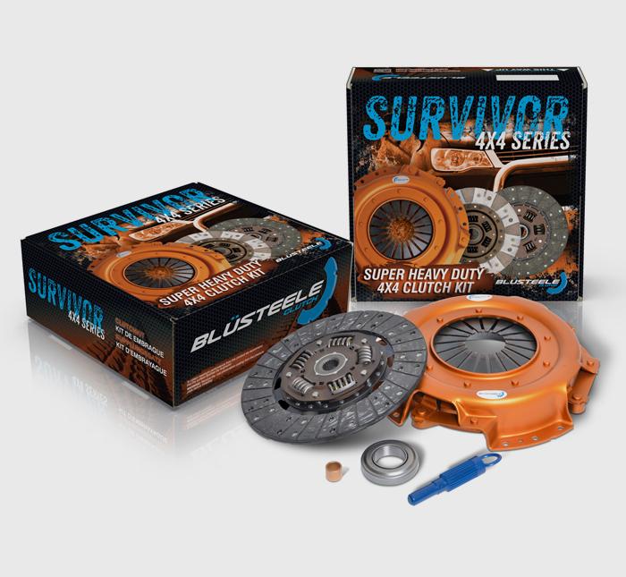 Blusteele HEAVY DUTY clutch kit for MITSUBISHI pajero 6G74 NJ NK NL NM NP 3.5 V6