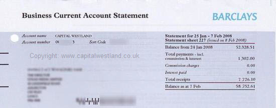 capital westland robert evans income proof